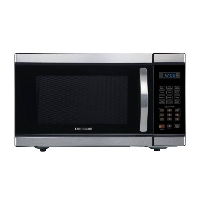 Faberware 1.1 cu ft Microwave Oven - Silver