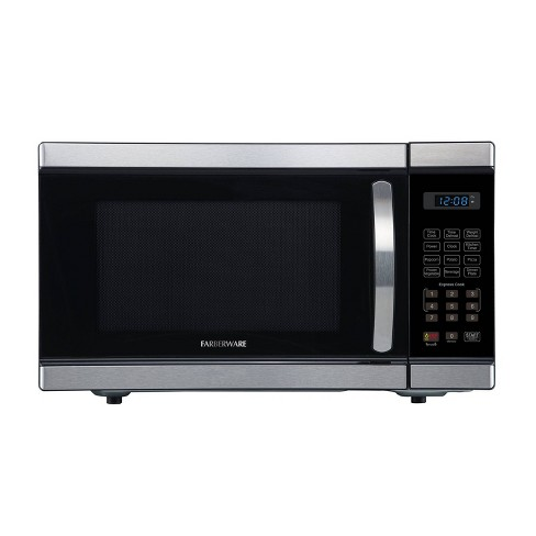 Faberware 1.1 cu ft Microwave Oven - Silver - image 1 of 4