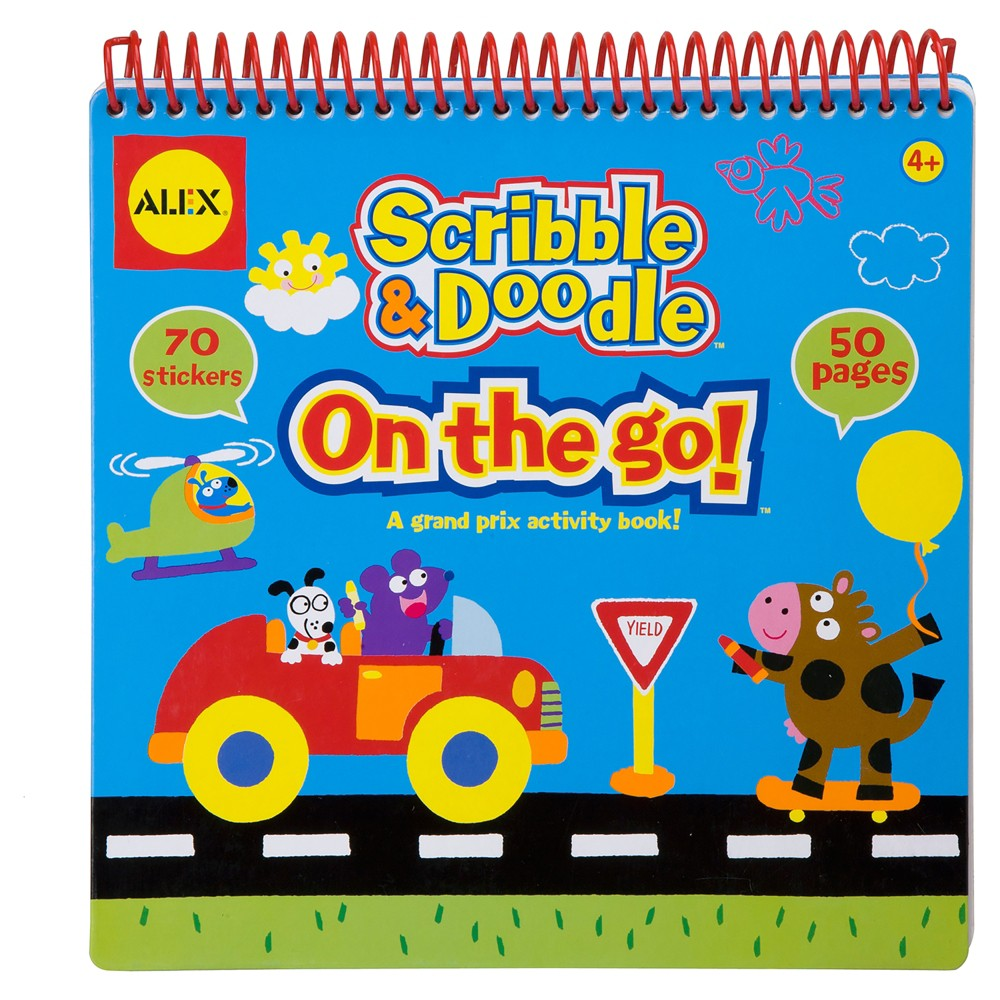 Image of ALEX Toys Artist Studio Scribble and Doodle - On The Go