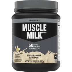 Muscle Milk Pro Series Protein Powder - Intense Vanilla - 32oz