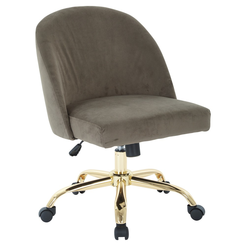 Layton Office Chair Otter Brown - Osp Home Furnishings