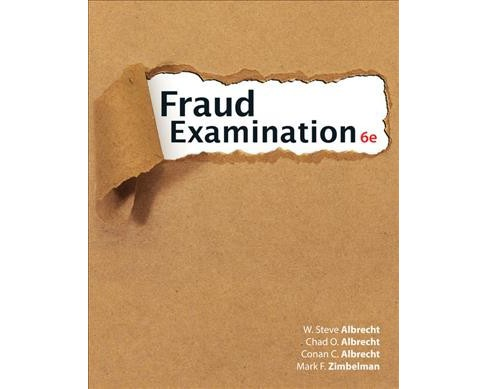 Fraud Examination -  (Hardcover) - image 1 of 1