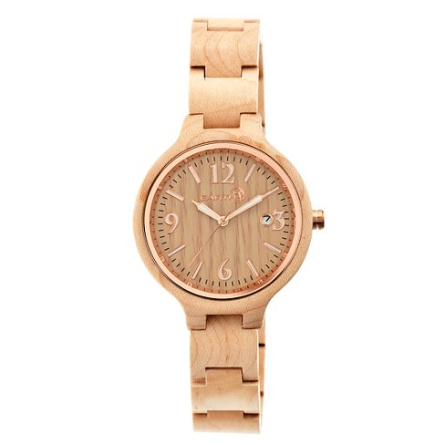 Women's Earth Nodal Watch with Luminous hands and Date Display-Khaki/Tan - image 1 of 3