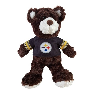 "NFL Pittsburgh Steelers12"" Teddy Bear with Jersey"