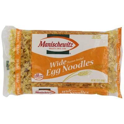 Manischewitz Wide Egg Noodles 12oz