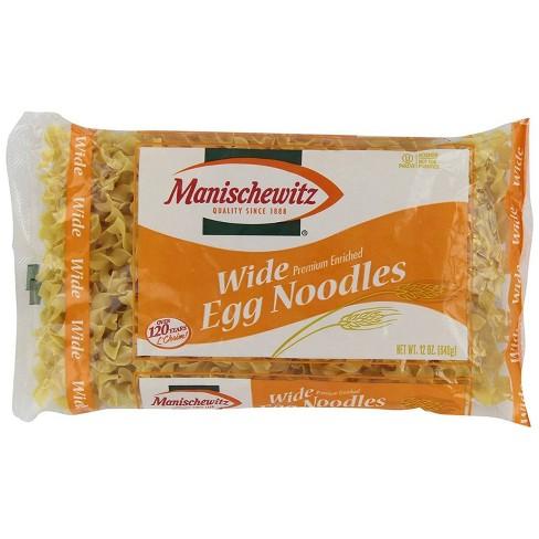 Manischewitz Wide Egg Noodles 12oz - image 1 of 2