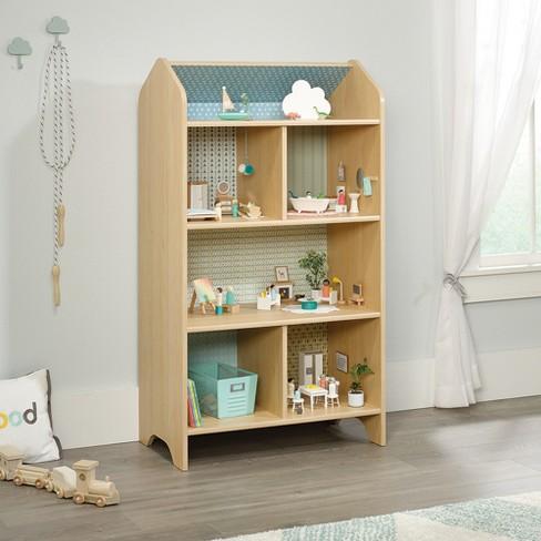 Pinwheel Dollhouse Bookcase Urban Ash