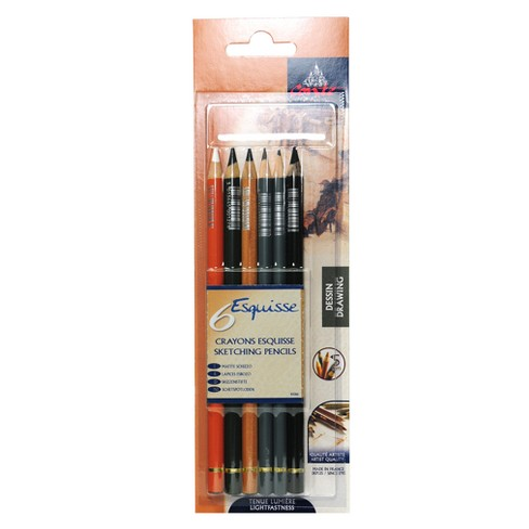 Drawing Pencil Set 6ct - Conte - image 1 of 1