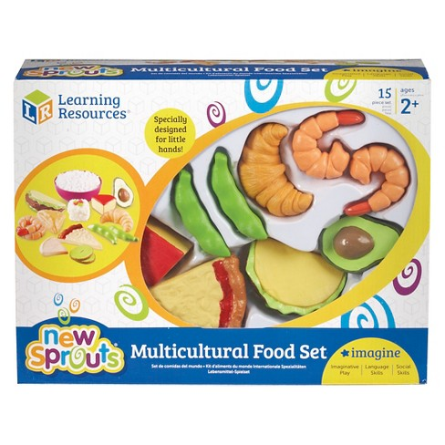 Learning Resources Multicultural Food Set - image 1 of 2
