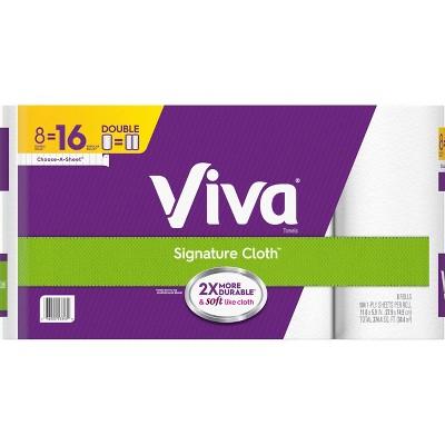 Viva Signature Paper Towels - 8pk
