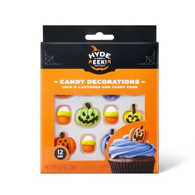 Smooth Pumpkins & Candy Corn Candy Decorations - 12ct - Hyde & EEK! Boutique™