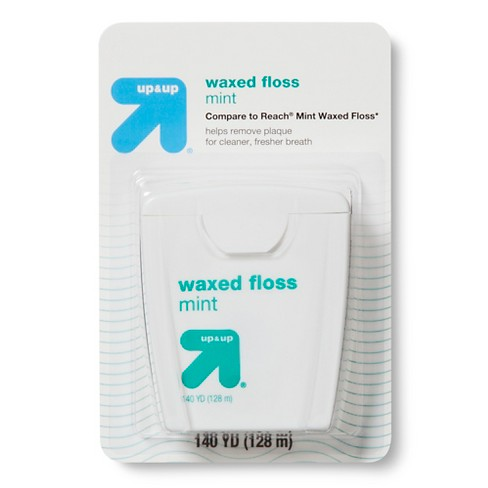 Refreshing Waxed Mint Floss - 140yds - Up&Up™ (Compare to Reach Mint Waxed Floss) - image 1 of 1