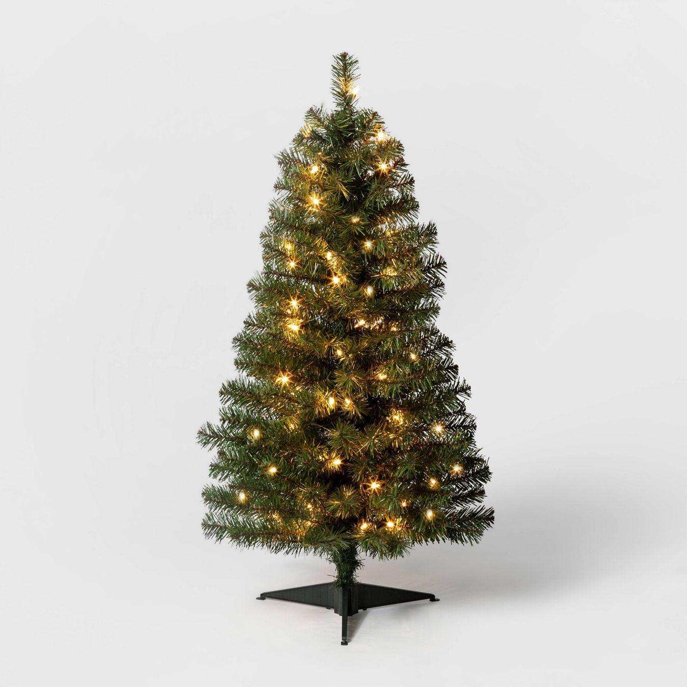 Wondershop 3ft. Pre-Lit Alberta Spruce Lights Artificial Christmas Tree