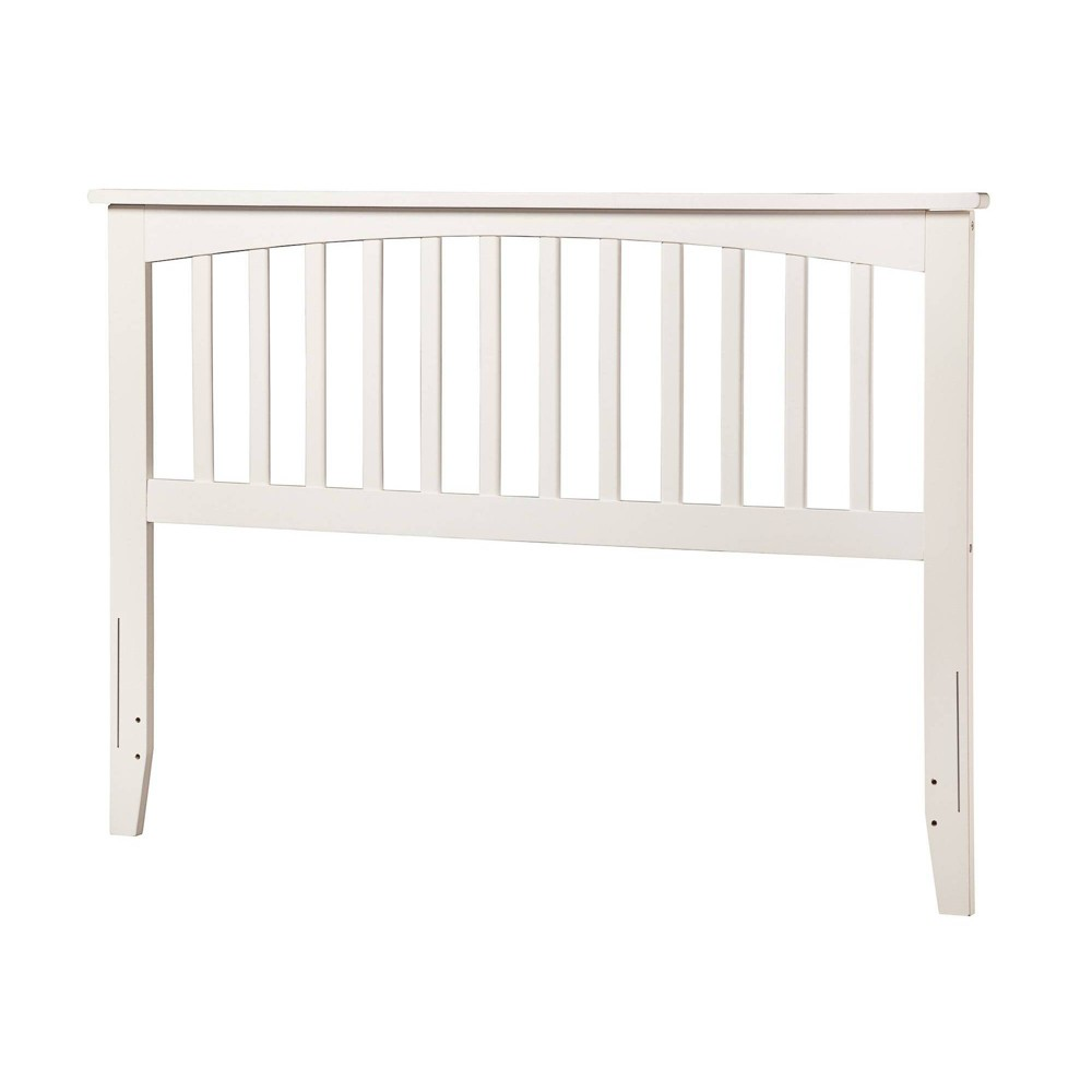 Image of Full Mission Headboard White - Atlantic Furniture