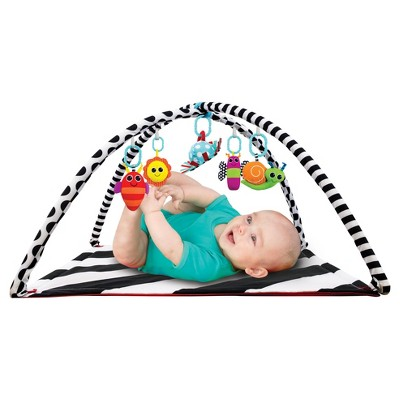 Sassy Baby Activity Playmat - Black/White
