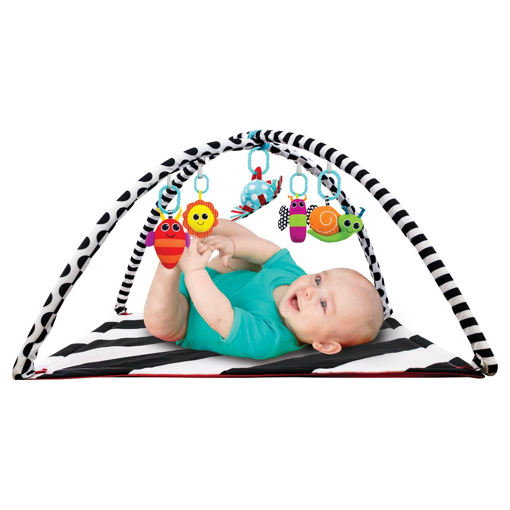 Image of Sassy Baby Activity Playmat - Black/White