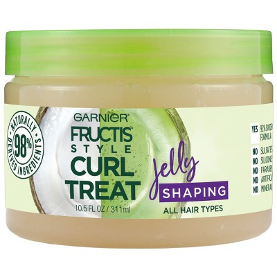 Hair Styling: Garnier Fructis Style Curl Treat Jelly Shaping