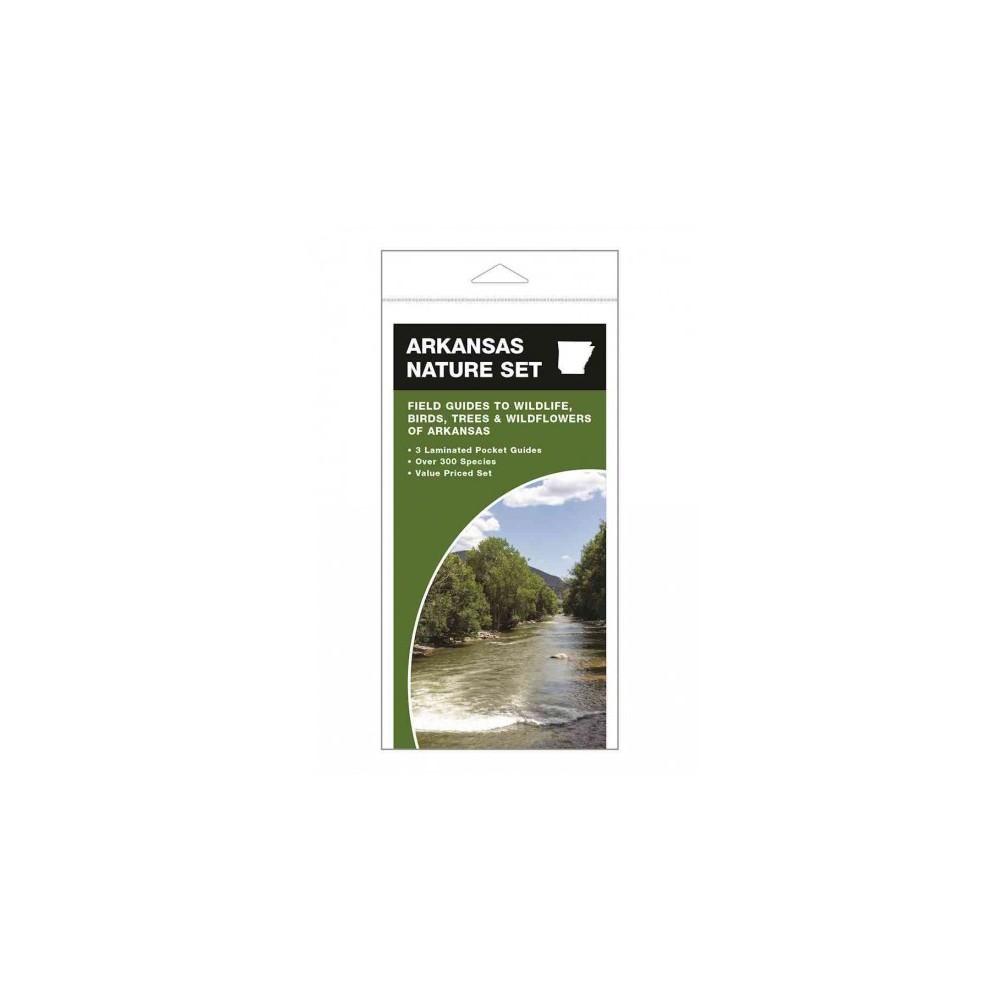 Arkansas Nature Set : Field Guides to Wildlife, Birds, Trees & Wildflowers of Arkansas (Paperback)