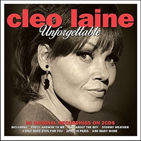 Cleo laine - Unforgettable (CD) - image 1 of 1