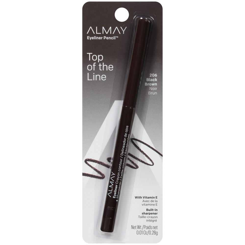 Image of Almay Eyeliner Pencil 206 Black Brown - 0.01oz