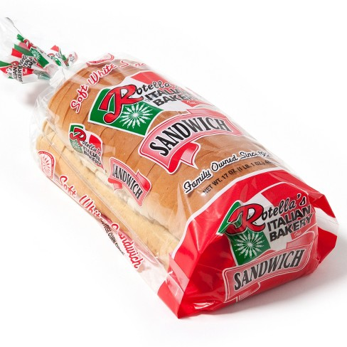 Rotella's Italian Bakery Sandwich Bread - 17oz - image 1 of 1