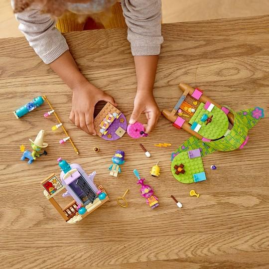 LEGO Trolls World Tour Lonesome Flats Raft Adventure Kids Building Kit 41253 image number null