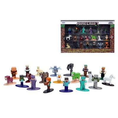 "Jada Toys Nano Metalfigs Minecraft Die-Cast Figures 1.65"" 20-Pack"