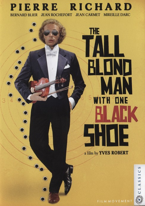 Tall blond man with one black shoe (DVD) - image 1 of 1