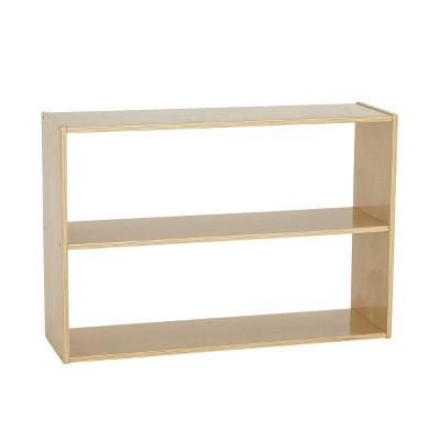 Birch Streamline 2-Shelf Storage Cabinet without Back