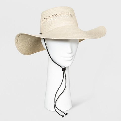 Women's Floppy Hat - Universal Thread™ Natural - image 1 of 2