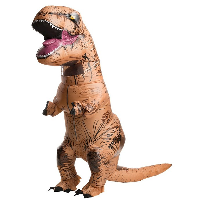 Adult Jurassic World Inflatable T-Rex Costume - image 1 of 1