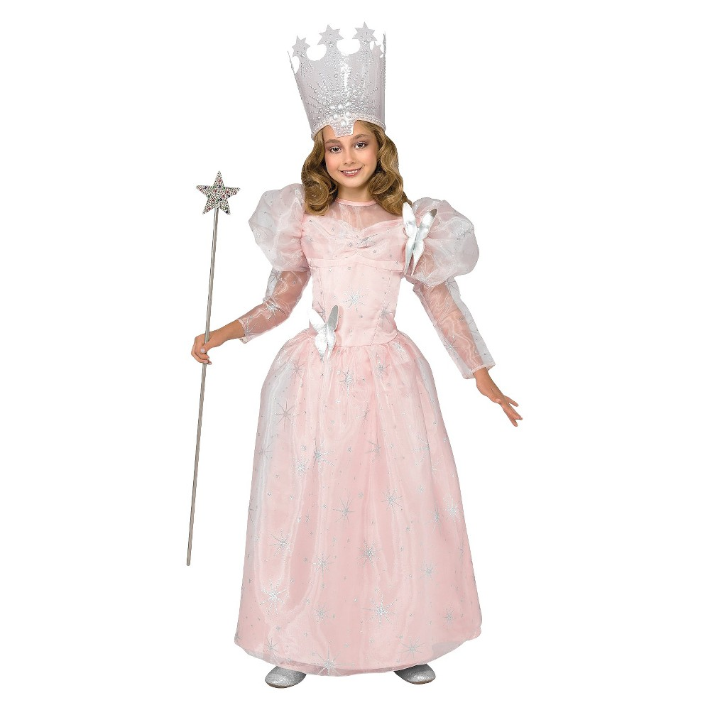 Kids' Wizard of Oz Glinda the Good Witch Costume L 12-14, Girl's