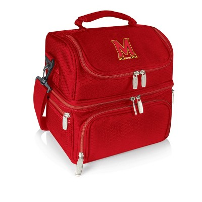 NCAA Maryland Terrapins Pranzo Dual Compartment Lunch Bag - Red