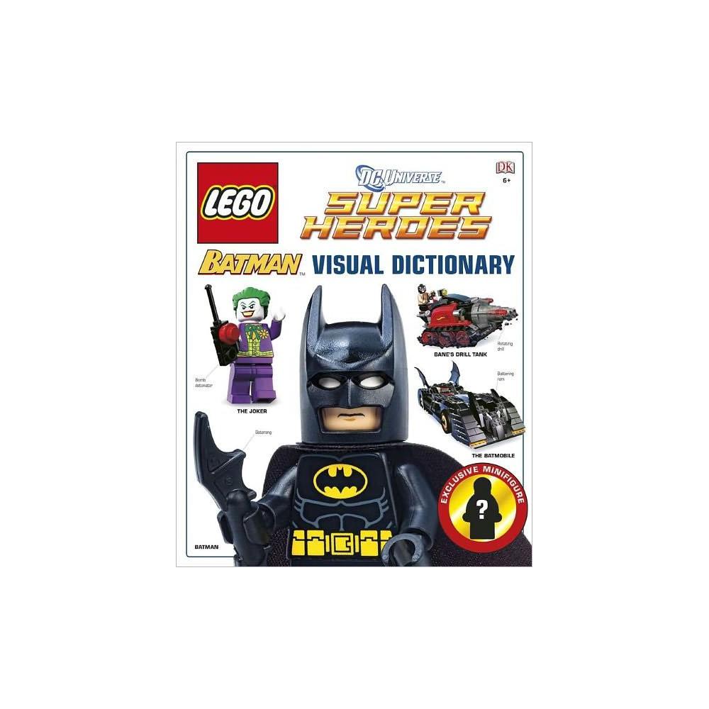 Lego Batman The Visual Dictionary Hardcover By Daniel Lipkowitz