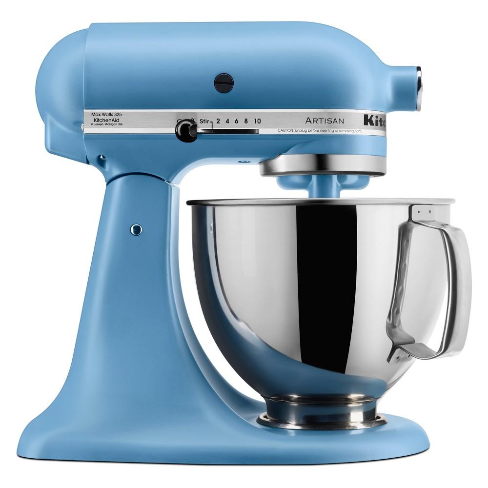 KitchenAid 5qt Artisan Series Tilt-Head Stand Mixer Matte Vintage Blue – KSM150PSVB 53807820