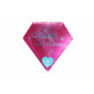 Dylans Candy Bar Valentines Day Diamond Shaped BoxMilk Chocolate Hearts - 3.88oz