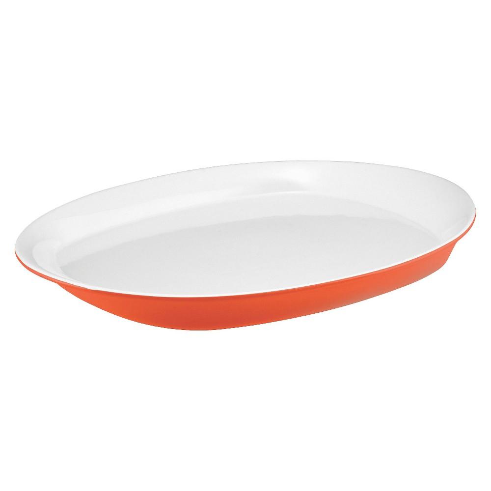 Rachael Ray Stoneware Platter, Orange