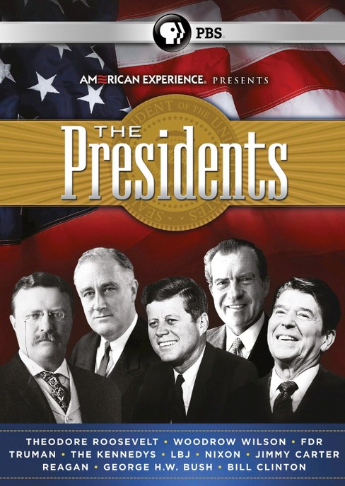 American Experience: The Presidents (17 Discs) (dvd_video) - image 1 of 1