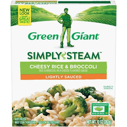 Green Giant Steamers Frozen Cheesy Rice & Broccoli - 10oz - image 1 of 3