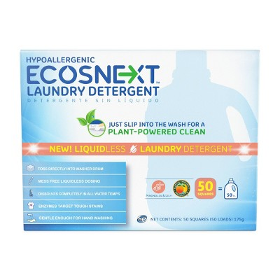 ECOS Next Liquidless Laundry Detergent Sheet - Magnolia & Lily - 50ct