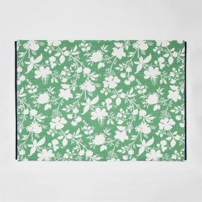 Artistic Green Floral Placemat - Threshold™