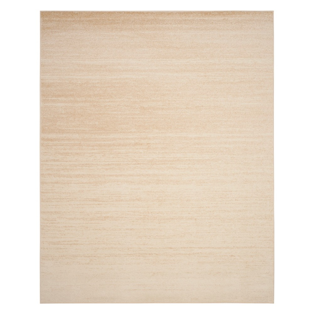Ombre Design Area Rug Champagne/Cream