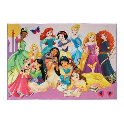 "60""x84"" Disney Princess Party Rug"