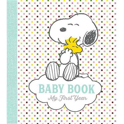 Peanuts Baby Book - by Charles M Schulz (Hardcover)