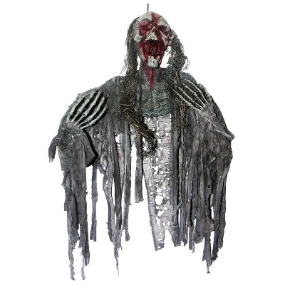 "36"" Creepy Zombie Halloween Decorative Holiday Scene Props"
