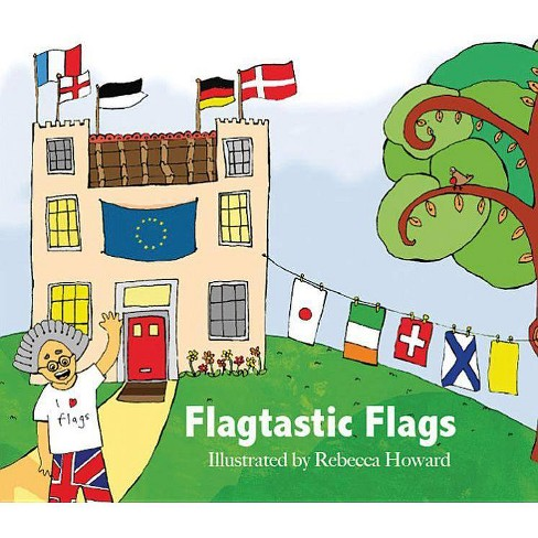 Flagtastic Flags - (Hardcover) - image 1 of 1