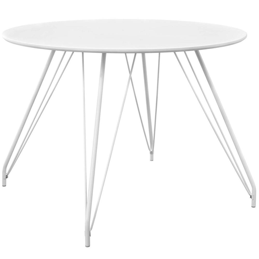 Satellite Circular Dining Table White - Modway