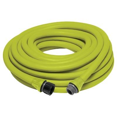 Sun Joe® Aqua Joe Expandable Lightweight Kink - Free Hose - 50' - Green