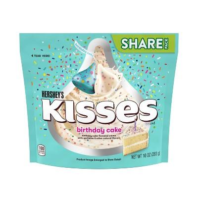 Hershey's Birthday Cake Kisses Share Size - 10oz