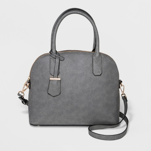 Women's Large Dome Satchel - A New Day™ - image 1 of 3
